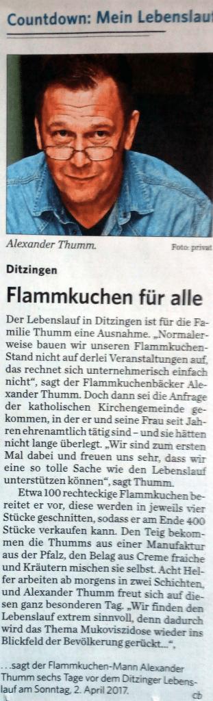 Bild zum Interview mit der Stuttgarter Zeitung