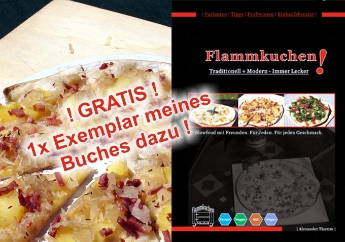 Flammkuchen - Buchcover - Alexander Thumm