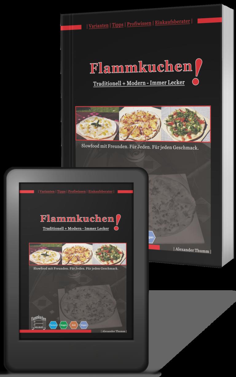 Flammkuchenbuch, e-book und printversion ringbuch